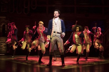 Hamilton / Victoria Palace Theatre, London